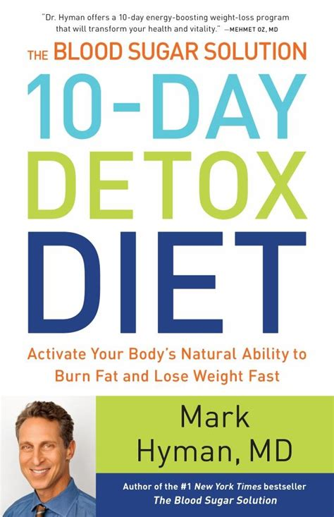 Detox Day Diet by The Blood Sugar Solution 10 Day Detox Diet Wdse 183 Wrpt