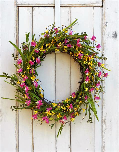 spring wreath for front door spring wreath front door wreath wreath summer wreath