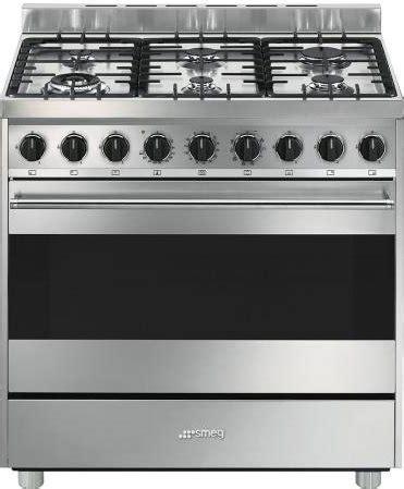 cucine a gas smeg con forno elettrico smeg cucina a gas 6 fuochi forno elettrico multifunzione