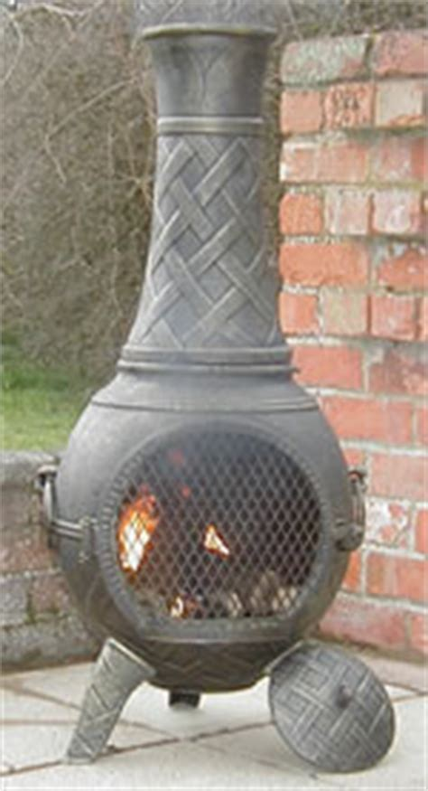 Where Can I Buy A Chiminea Buy The Basketweave Cast Iron Chiminea From The