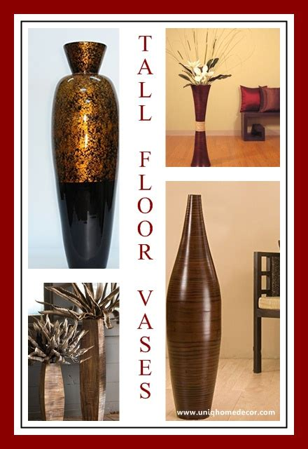 home decor vases tall 14 tall floor vases to make a bold impression uniq home