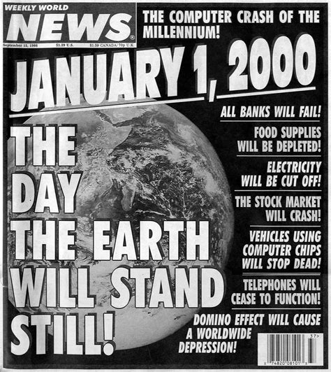 7 Events That Happened In 1999 by Y2k All Will We Learn Ganador