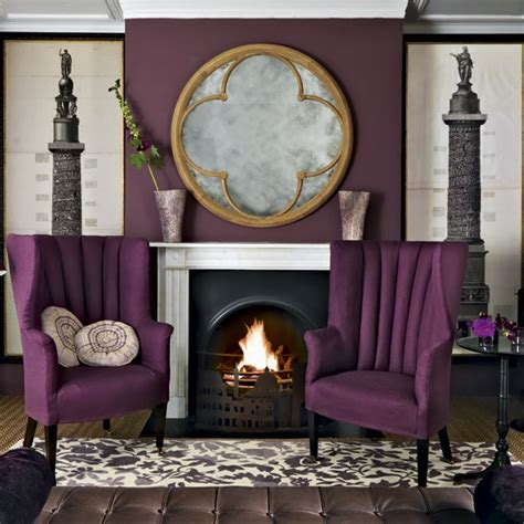 plum and gray living room purple living room living room designs paint colours housetohome co uk