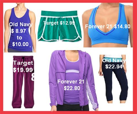 where to find affordable workout clothes girly schtuff