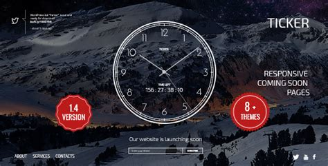 templates bootstrap countdown ticker responsive countdown clock landing page by smarty