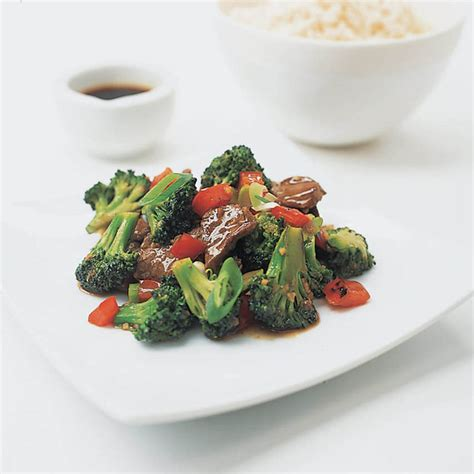 America S Test Kitchen Beef Stir Fry by Stir Fried Beef And Broccoli With Oyster Sauce Recipe