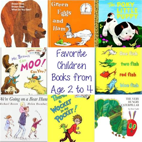 children of our age books favorite children books from age 2 to 4 experiencing