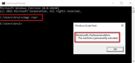 tutorial hack lewat cmd tutorial cara mengetahui aktif windows lewat cmd