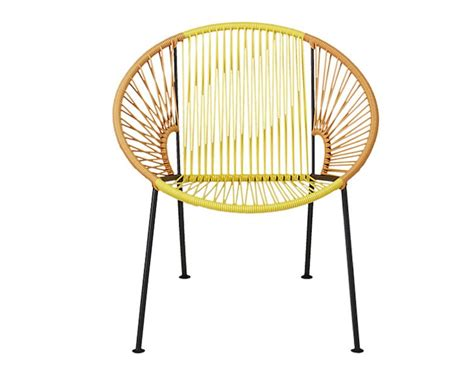 Hoop Chair by 10 Easy Pieces Hoop Chairs For Patio And Poolside