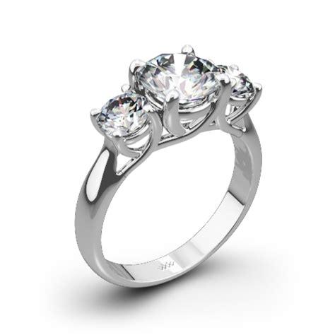 3 trellis engagement ring 1428
