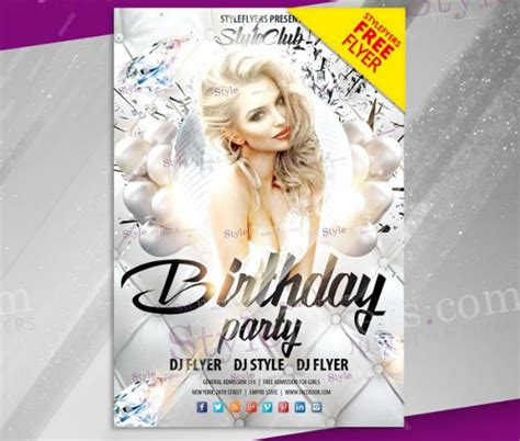33 Birthday Flyer Templates Free Premium Download Birthday Flyer Templates Free