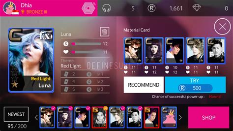 Superstar Smtown Card Template by The Sublime Tips Tricks Superstar Smtown Power Up