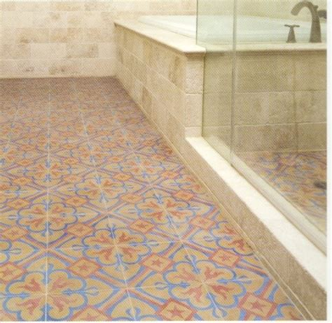 que es tile pattern en español tradional bathroom with old design floor spanish style