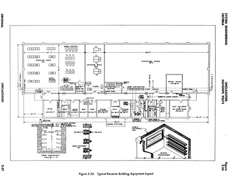 layout of building and equipment navy commsta building plans and equipment layout