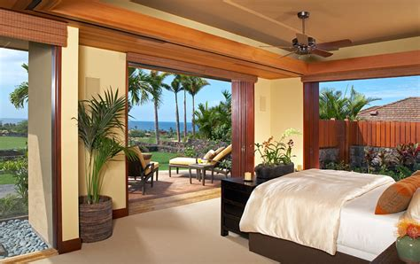 hawaiian bedroom luxury dream home design at hualalai by ownby design