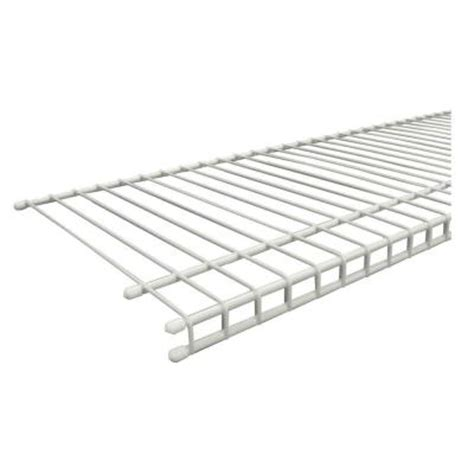Closetmaid 20 Wire Shelving by Closetmaid Superslide 72 In X 12 In Ventilated Wire