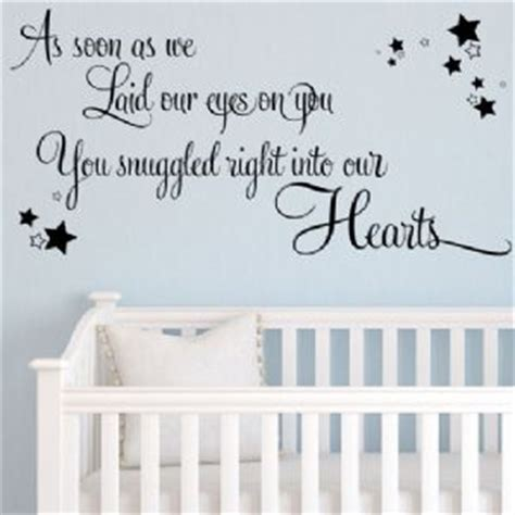 baby wall stickers as soon as we laid our on you baby wall sticker
