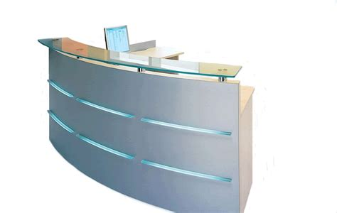 Emel 3 Curved Reception Desk Online Reality Rounded Reception Desk