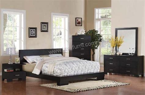 desain kamar ukuran 3x2 kamar tidur minimalis set hitam doff jayafurni mebel