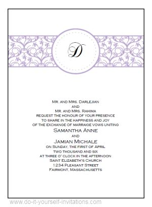 invitation design print yourself free printable wedding invitations templates