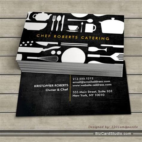 collage business card template black and white kitchen collage no 4 business card template