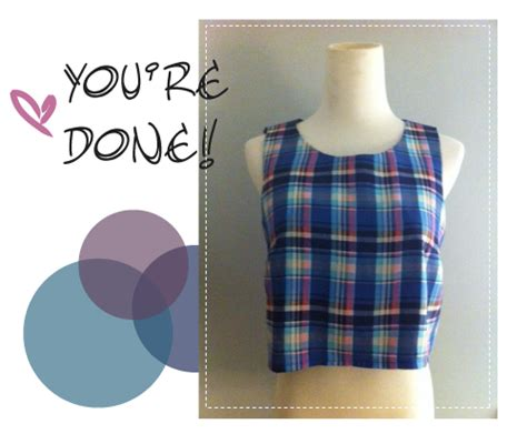 sewing pattern crop top crop tops are all the rage these days whether worn by