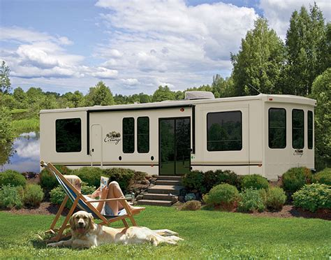 Trailer Cottage by Forest River Cedar Creek Cottage Destination Trailer Gallery By Forest River