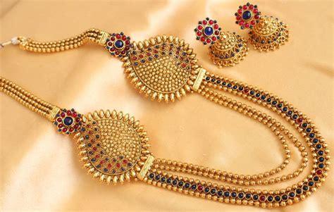 Gelang Multilayer Gold 155 buy gorgeous antique multilayer blue designer mugappu
