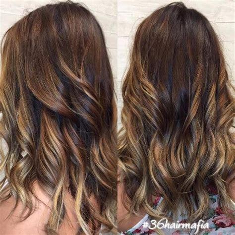 honey brown haie carmel highlights short hair chocolate brown hair with honey highlights hairs picture