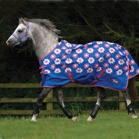pony rug cottage craft lightweight pony turnout rug 0g blue redpost equestrian