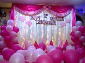 simple birthday decoration at home home design balloon decoration ideas for birthday party