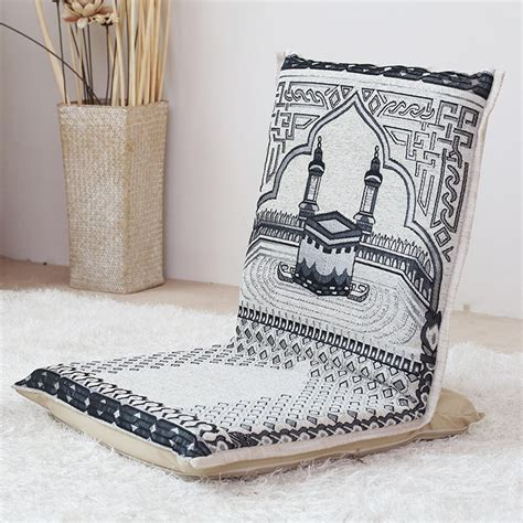 legless chair design moslem worship cushion portable