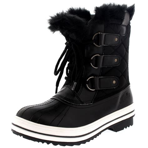 snow boots for uk womens snow boot winter snow fur warm