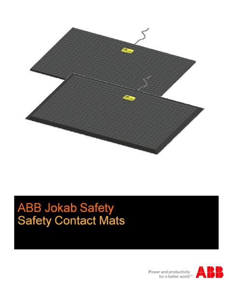 abbsales abb jokab safety mats