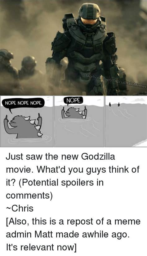 Godzilla Nope Meme - godzilla nope nope nope meme quotes