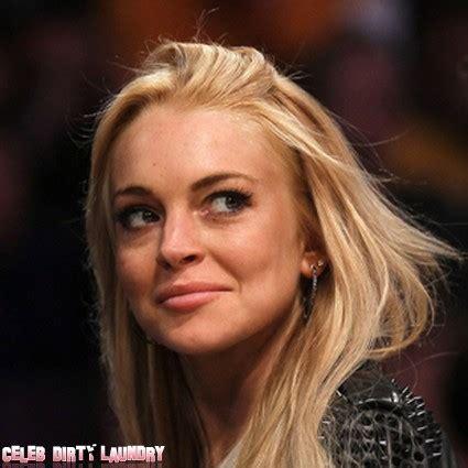 Lindsay Lohan Is A Stalker by Lindsay Lohan Calls The Cops On Stalker Laundry