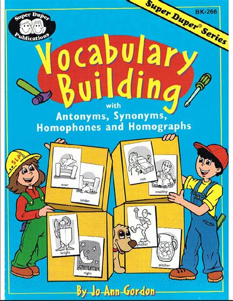 duper publications vocabulary builder cstn s