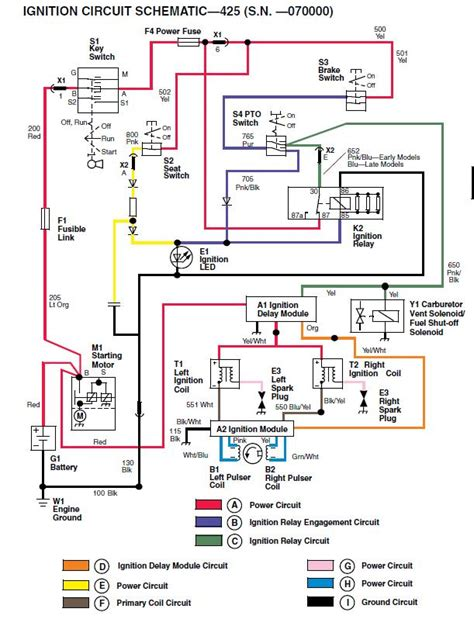deere 425 wiring diagram 38 wiring diagram
