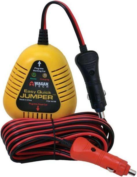 jump starter  car booster power battery charger  cigarette lighter connector ebay