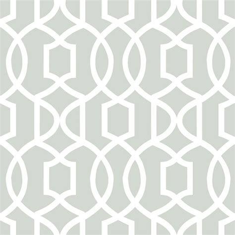 Grey Navy Wallpaper   nuwallpaper grand trellis peel stick wallpaper grey