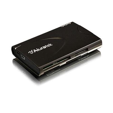 Terbatas Usb 2 0 Hub Card Reader Combo aluratek 3 port usb 2 0 hub card reader combo auhr200 b h photo