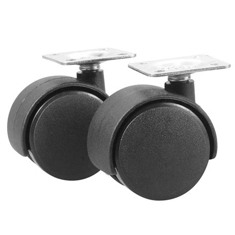 Desk Chair Wheels Replacement by 4pcs Office Chair Computer Desk Caster Replacement Wheels