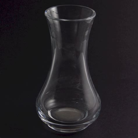 Plain Glass Vase by Small Posy Vase