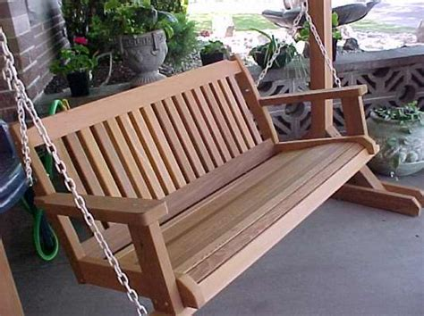 poarch swing cabbage hill 5 porch swing wood country