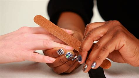 how to cut nails that are how to cut shape nails manicure tutorials