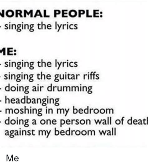 in my bed lyrics in my bedroom lyrics 25 best memes about wall of death