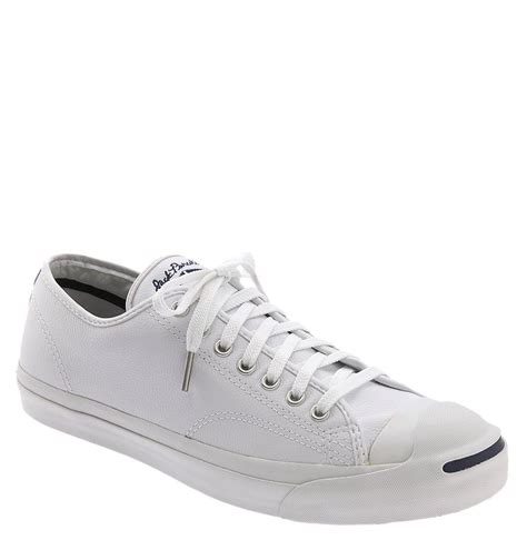 womens white leather sneakers converse purcell leather sneaker in white