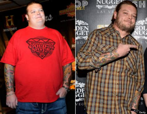 big hoss weight loss corey harrison of pawn stars debuts 192 pound weight