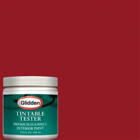 glidden premium 8 oz delicious interior paint tester