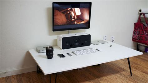 Low Desk Sit On Floor by The Low White Workspace Lifehacker Australia